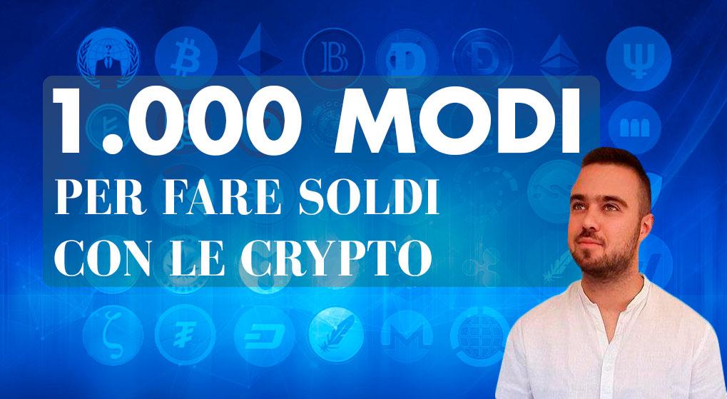 modi per fare soldi con bitcoin